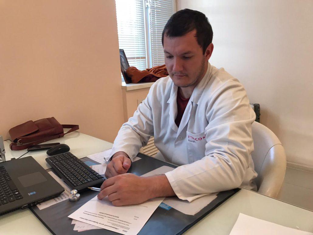Чуйко Д.С. - ортопед