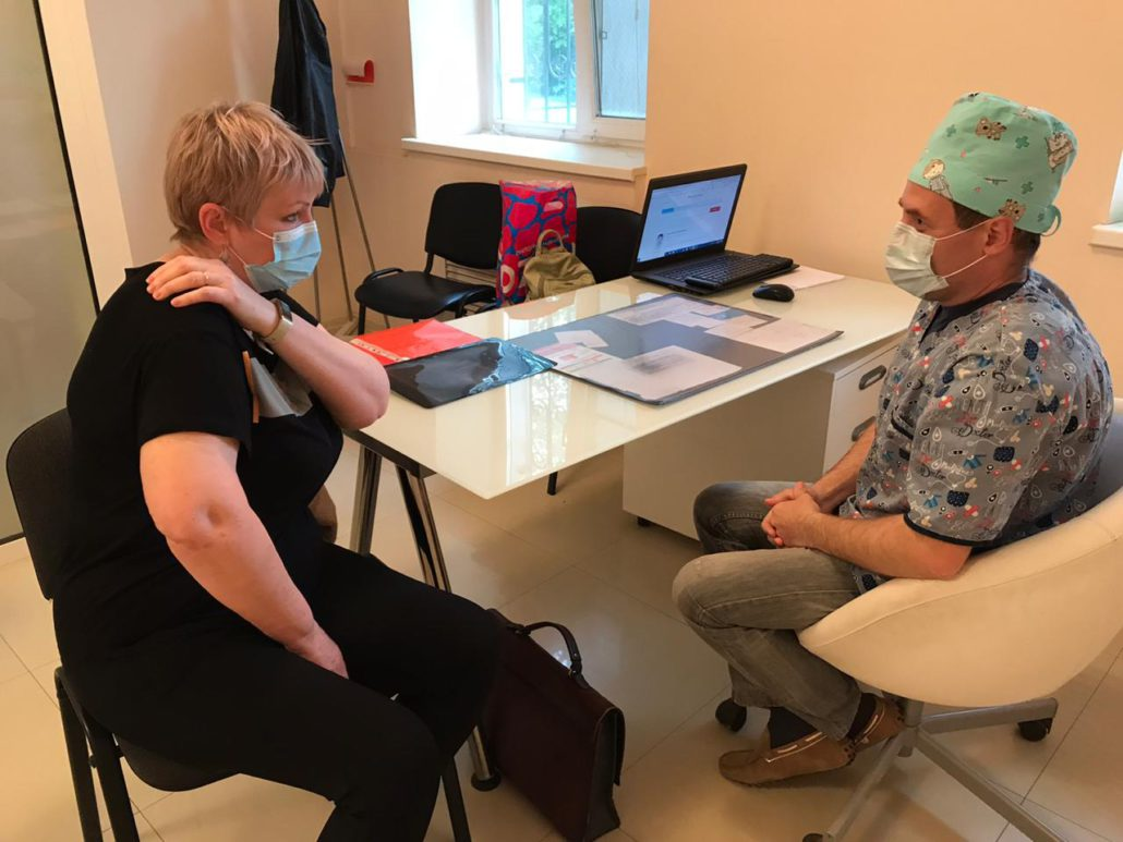 Опытный травматолог - Тимошенко М.Е.
