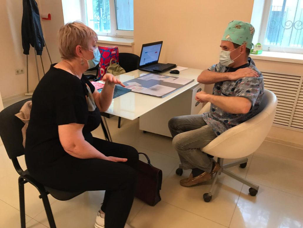 эндопротезирование коленного тазобедренного сустава