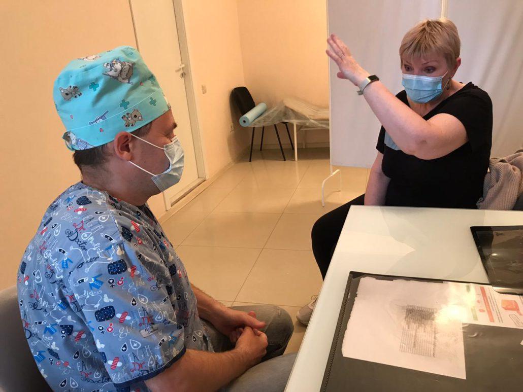 травматолог - Тимошенко М.Е.