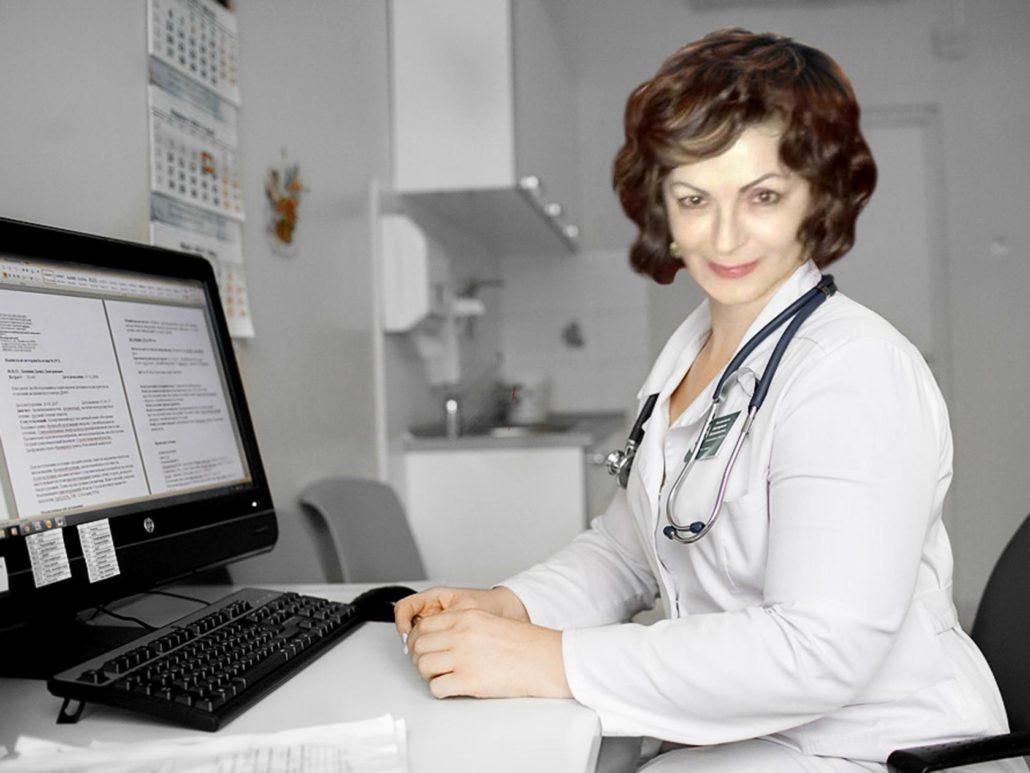 Елена Васильевна Белецкая Хиромассаж