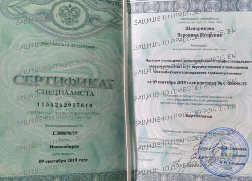 Вероника Игоревна Шендрикова - терапевт в Ростове