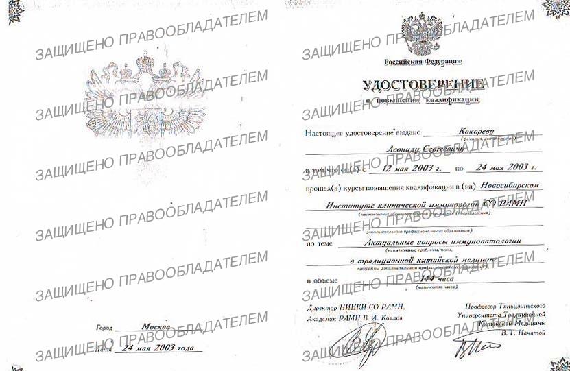 Кокорев Леонид Сергеевич - Иглотерапия Ростов